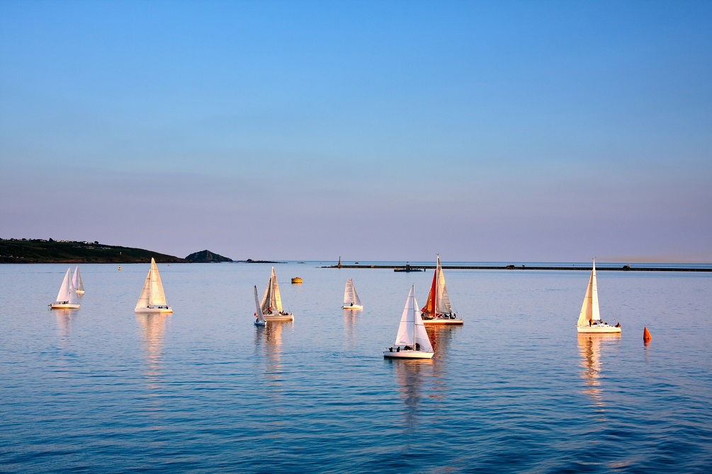 Sailing in Plymouth UK